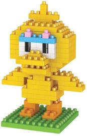Diamond blocks gele vogel (+/- 100 blokjes)
