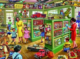 Diamond painting speelgoed winkel (60x40cm)