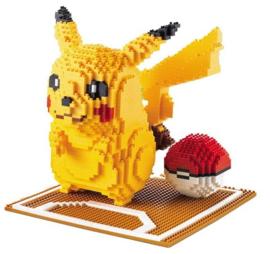 Diamond blocks Pikachu met bal (1260 blokjes)