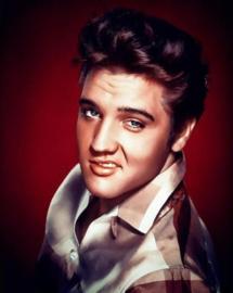 Diamond Painting Elvis Presley (60x45cm)(full)