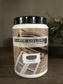 Carte Colori, kalkverf, kleur Nero
