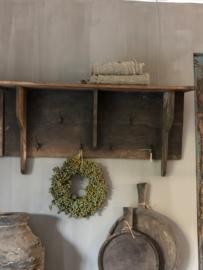 Kapstok van oud hout