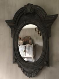 Spiegel van hout