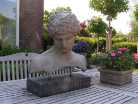 Hermes, borstbeeld