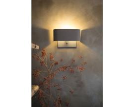 Wandlamp Bolzano van Frezolli, loodkleur