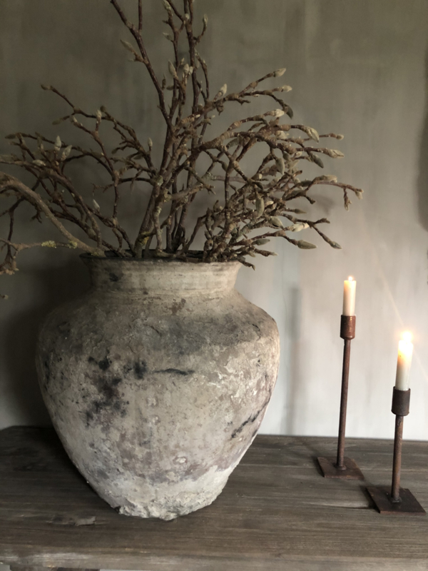 Kandelaar Beau van Puur wonen, 20 cm roest