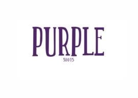 Flockfolie Purple 20 x 25 cm