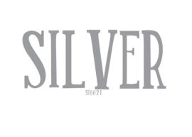 Siser stretch flexfolie Silver 20 x 25 cm