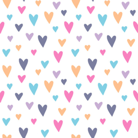Flex Happy Pattern Hearts