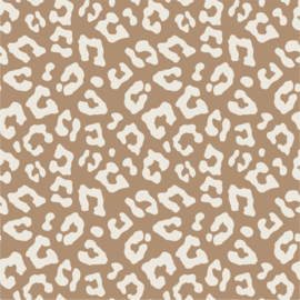 Flex Leopard Grafisch Tan/Creme Neutral