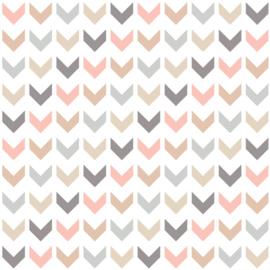 Vinyl Pretty Pastel Pattern Chevron 2