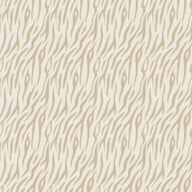 Flex Zebra Grafisch  Creme/Tan Neutral