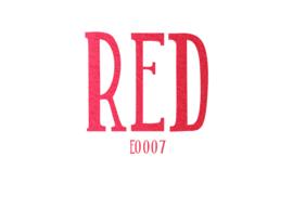Siser Electric flex Red 30 x 50 cm