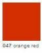 Oracal 641 mat 047 Orange Red