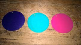 PLexiglas rond, diverse kleuren
