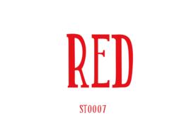 Siser stretch flexfolie Red 20 x 25 cm