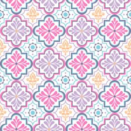 Vinyl Happy Pattern Tiles