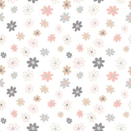 Vinyl Pretty Pastel Pattern Flowers 1