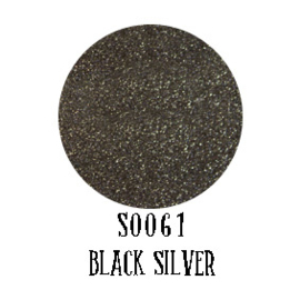 Moda Glitterflex Black Silver 30 x 50 cm