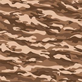 Vinyl Camouflage Brown