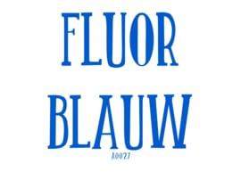 Fluor flexfolie Blauw 20 x 25 cm