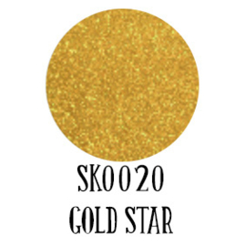 Siser Sparkle Gold Star 50 x 100 cm
