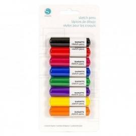 Sketch pens basis set