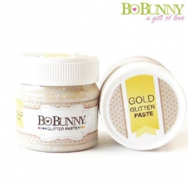 Bo Bunny glitter paste gold