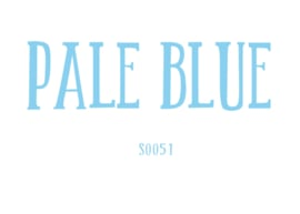 Flockfolie 20 x 25 cm Pale Blue