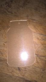 Plexiglas Mason Jar
