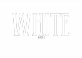 Siser flex Extra (nylon) White 50 x 100 cm