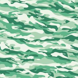 Vinyl Camouflage Green
