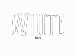 Siser flex White 30 x 50 cm