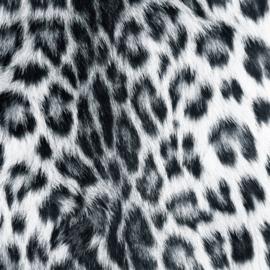 Vinyl Animal skin Leopard white