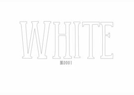Brick flex White 30 x 50 cm