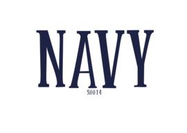 Flockfolie 20 x 25 cm Navy