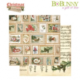 Bo Bunny Christmas stamps