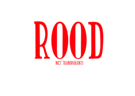Statische raamfolie Rood