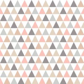 Vinyl Pretty Pastel Pattern Triangle