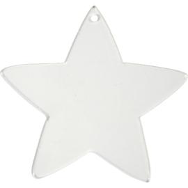 Plexiglas hanger ster