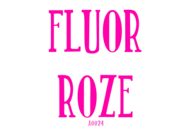 Fluor flexfolie Roze 30 x 50 cm