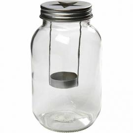 """Windlicht """"Mason jar"""""""