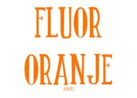 Fluor flexfolie Oranje 20 x 25 cm