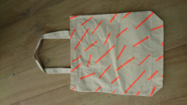 Cotton Bag Neon Stripes