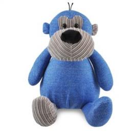 Zippies aap blauw