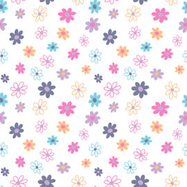 Flex Happy Pattern Flowers 1