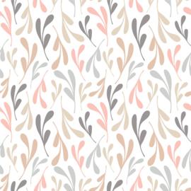 Vinyl Pretty Pastel Pattern Branches 2