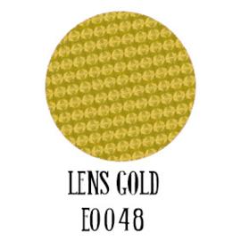 Siser Electric flex Lens Gold 30 x 50 cm