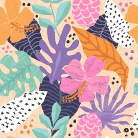 Flex Tropical Leafs & Flowers