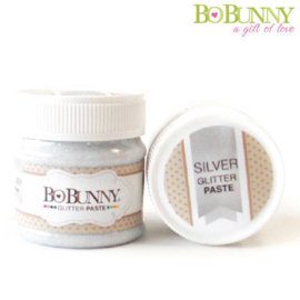 Bo Bunny glitter paste silver